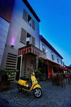 Baltazar Budapest- ~100, boutique style, cobblestone streets,  modern design inside