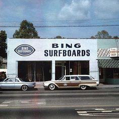 Bing Surfboards - Made in California - 60 Years of Craftsmanship Old Paris, Old London, Surfboard Shop, Hermosa Beach, Vintage Surf, Longboarding, Surf Art, Surfs Up, Classic Cars