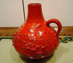 Montanus & Remy vase pottery 52/15 Henkelvase + Zugabe söndgens vase 510-15 ToP!