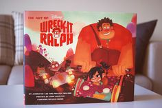 The art of Wreck it Ralph eli Räyhä-Ralf -taidekirja - Disnerd dreams