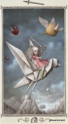Knight of Swords - Nicoletta Ceccoli Tarot by Nicoletta Ceccoli