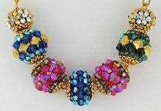 Bead&Button Show: Bead&Button Show Workshops & Classes: Sunday June 1, 2014: B141926 Pave-Style Beads