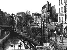 Quai de Jemmapes et de l'Hôtel du Nord (1938)