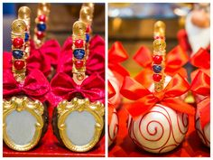 Festa Branca de Neve: Lívia – 6 anos - IFIT 21st Birthday Cakes, Baby 1st Birthday, Birthday Cookies, Birthday Parties, Beauty And The Beast Theme, White Party Decorations, Snow White Birthday, Alice, Candy Table