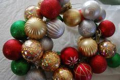 Ornaments Wreath from @The Crafting Chicks