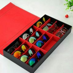 Glasses and sunglasses box for 12 AE