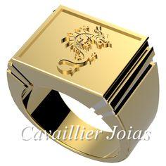 joias de ouro masculina - Anel dragão. Pesquisa Google