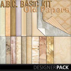 Basic Old Paper Bundle_4