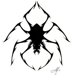 spider tribal tat