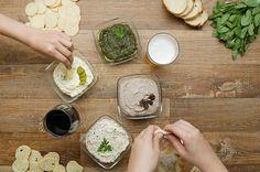 Aprenda a fazer os quatro tipos de patês:   Quatro ideias fáceis e rápidas de patês para receber os amigos em casa