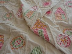 Rag Quilt Patchwork by Snipitup on Etsy, $84.00