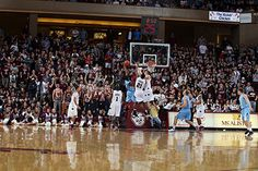 Basketball game at College of Charleston.