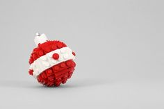 How to: Make Your Own LEGO Christmas Ornaments | Man Made DIY | Crafts for Men | Keywords: craft diy christmas how-to geek LEGO holiday ornament lego Lego humor DIY