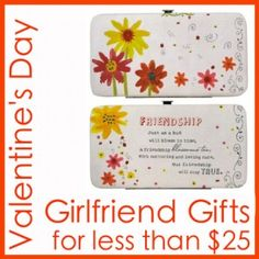 Valentines day girlfriend gifts under 25 dollars