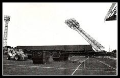 Demolition of the Old Showground - former home of Scunthorpe Utd