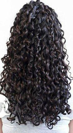 Long Curly Hair, Wavy Hair, Curly Hair Styles, Natural Hair Styles, 4b Hair, Coiffure Hair, Permed Hairstyles, Hair Photo, Ombre Hair