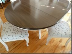Great Refinish Your Dining Room Table With General Finishes Milk Paint, Sold At Unfinished  Furniture In