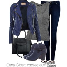 Elena Gilbert inspired outfit/The Vampire Diaries - Polyvore