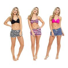 Ladies swim shorts #summer swimming beach #bikini bottoms womens #fitness hot pan,  View more on the LINK: 	http://www.zeppy.io/product/gb/2/282347500321/