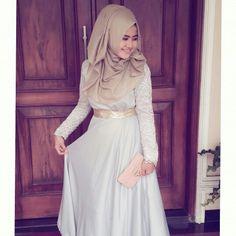 Mba fitri's wedding #hijab #wedding