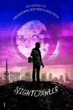 Nightcrawler movie poster #movietwit #movieposters #movies #action #drama #movieposters #movietwit