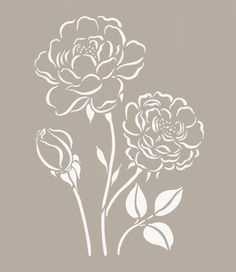 fiori stilizzati per muri - Cerca con Google