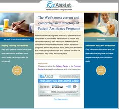 Patient assistance programs are run by pharmaceutical companies to provide free medications to people who cannot afford to buy their medicine. RxAssist offers a comprehensive database of these patient assistance programs, as well as practical tools, news, and articles so that health care professionals and patients can find the information they need. All in one place. Get Educated, Make Time, Programming, The Help, Nursing, Health Care, Medicine, Angels, Articles