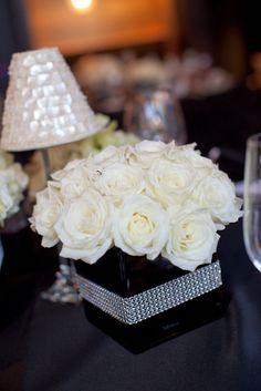 reception wedding flowers,  wedding decor, wedding flower centerpiece, wedding flower arrangement,  www.myfloweraffair.com, can do w/o bling