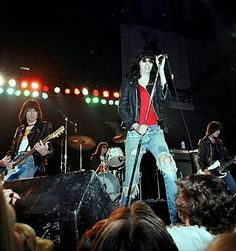 THE RAMONES Live at The Waldorf Nightclub . San Francisco , California , 1978 . Photo by , Richard McCaffrey/M.Ochs