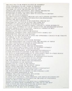 Jenny Holzer – Truisms (full list)