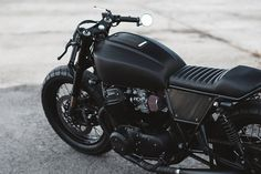 Blacker Than Black: custom 1978 Honda CB750 by Clockwork Motorcycles - Bike EXIF
