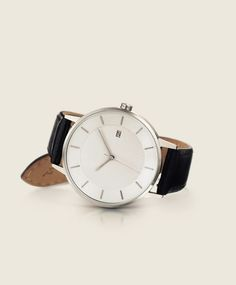 Essentials. This classic watch is available in multiple case finishes and a variety of leather straps. All have Swiss movements, sapphire crystal glass, and Italian full grain vegetable-tanned leather. Choose your own classics from our collection.