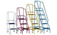 Storage Design Limited - Access Handling - Industrial Steps - Mobile Steps - Narrow Aisle Mobile Steps