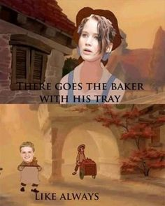 When The Hunger Games Meets Beauty and the Beast, hilarity ensues
