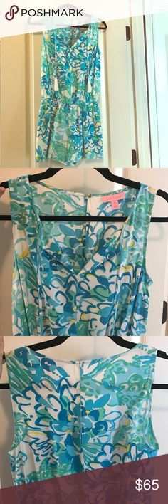 BNWOT Lilly Pulitzer Romper XS! Super cute romper in perfect condition..never worn!! Lilly Pulitzer Other