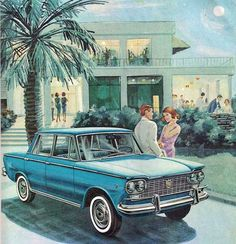 Fiat 1500 Reds Bbq, Car Posters, Car Illustration, Old Ads, Love Car, Retro, Fiat, Motor Car, Cars And Motorcycles