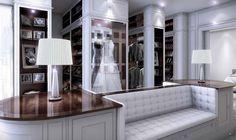 Clive Christian Weybridge Ltd Alpha Deco Dressing Room