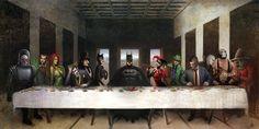 Batmans Last Supper by Nszerdy.deviantart.com on @deviantART