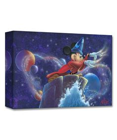 Fantasia Mickey's Magic Limited Edition Wrapped Canvas