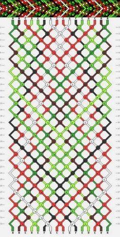 Bead weave pattern