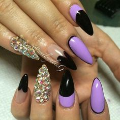 Purple & Black ♡♡♡♡