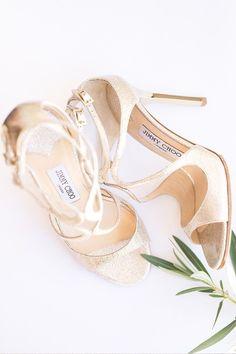 8610af29279 gold Jimmy Choo wedding shoes. So pretty. Hipster Grunge