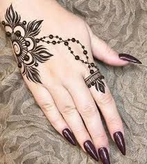 42 beautiful henna tattoo designs for women to try out - Henna Tattoo - Henna Designs Hand Mehndi Designs For Beginners, Henna Designs Easy, Mehndi Designs For Fingers, Mehndi Art Designs, Latest Mehndi Designs, Finger Henna Designs, Arabic Henna Designs, Flower Designs, Simple Designs