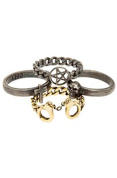 The Sinful Stack Rings in Assorted by Obey