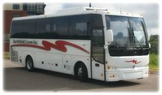 Northfield Lines 30 passenger motorcoach charter bus