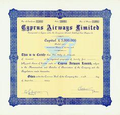 HWPH AG - Cyprus Airways Limited 1983