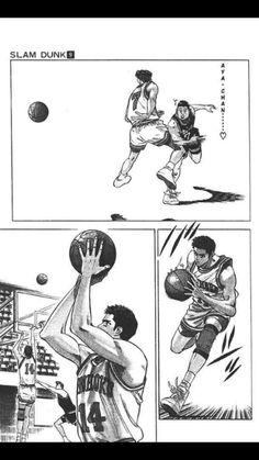 Pass from Point guard to 3 pointer Slam Dunk Manga, Comics, Cards, Cartoons, Maps, Comic, Playing Cards, Comics And Cartoons, Comic Books