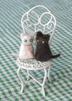 Crafting With Cat Hair. I'm starting this next week LOL!