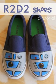 R2D2 Shoes Tutorial - Twin Dragonfly