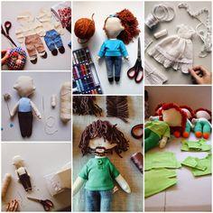 """""""Lelleco, muñecos y peluches personalizados hechos a mano con material reciclado. Custom dolls. www.lelleco.bigcartel.com"""""""